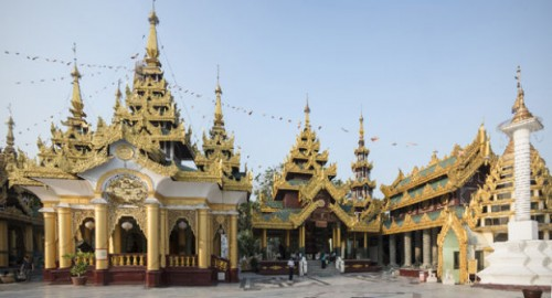 Myanmar, the land of the golden pagodas